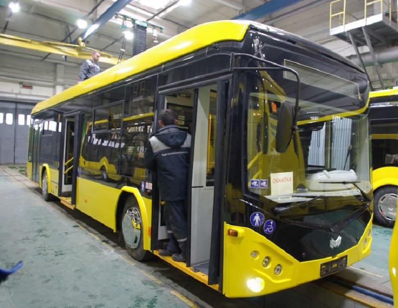 Представлен новый белорусский электробус