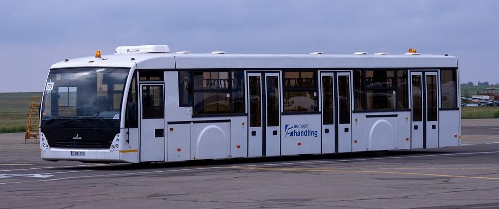 Видео: Презентован перронный автобус МАЗ-171 для аэропортов