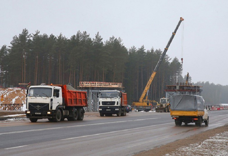 После завершения реконструкции скорость движения по М6 ограничат до 100 км/ч
