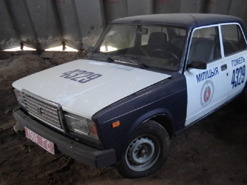 УВД Гомельской области распродает изношенные служебные авто