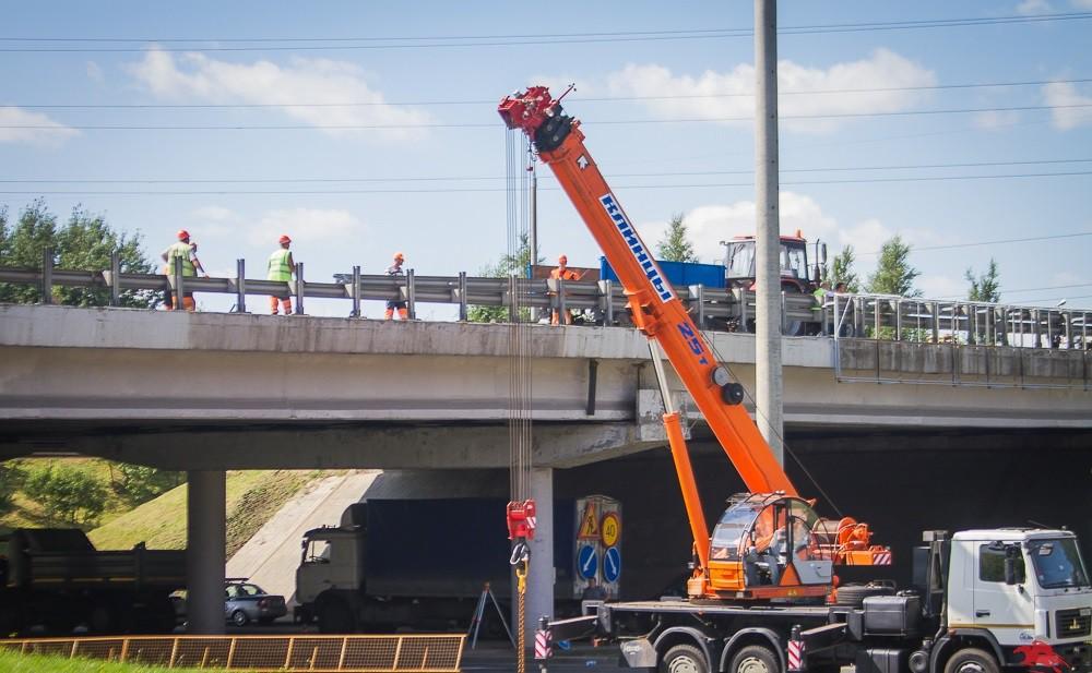 Еще четыре путепровода в Минске закроются на ремонт
