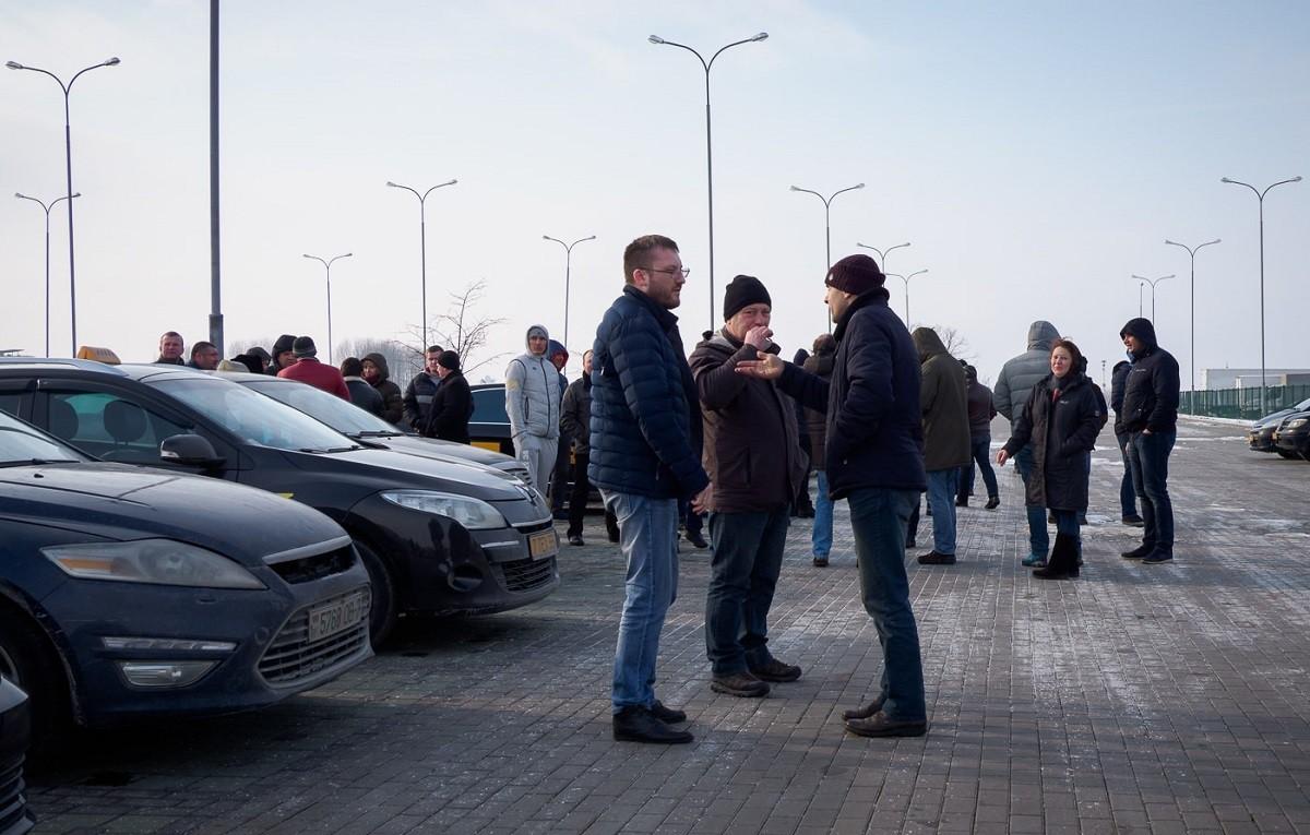 Новый виток забастовок таксистов в Гомеле. Требования все те же