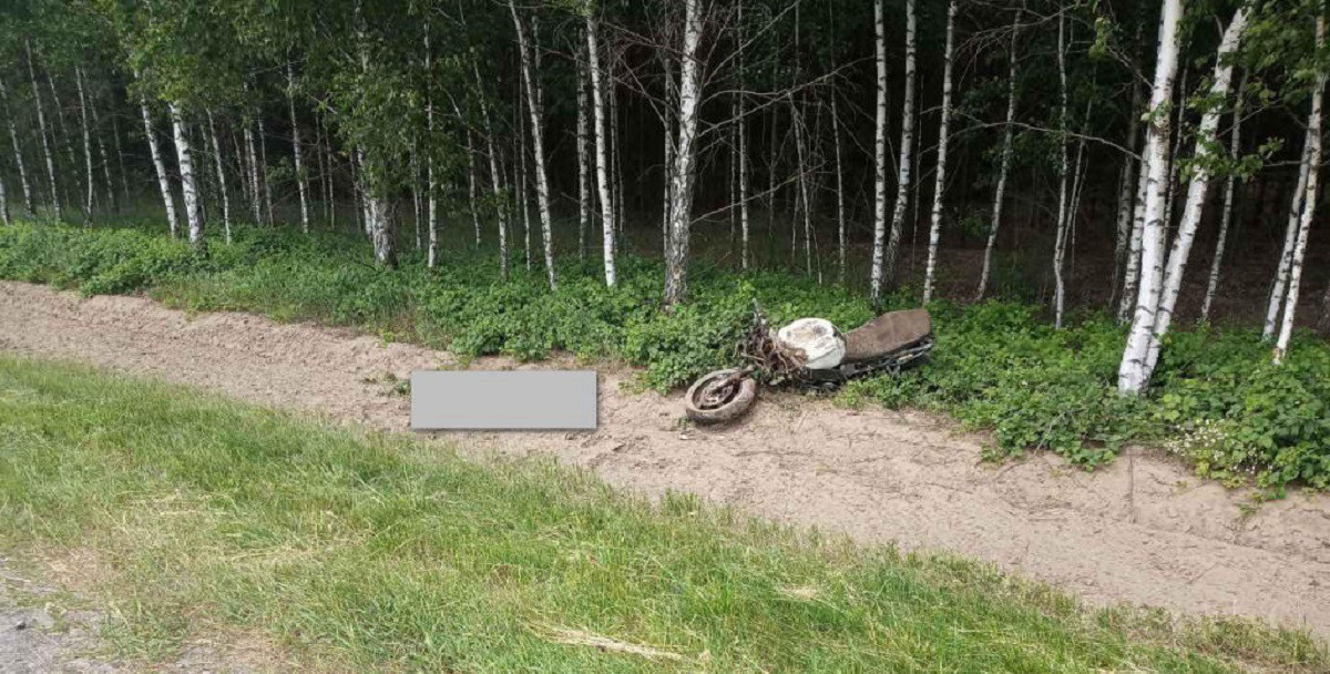 Врезавшись в попутную «Ниву», погиб мотоциклист под Пинском. Но это не единственная авария со смертельным исходом