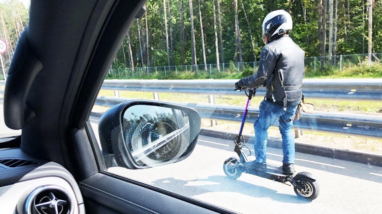 Видео: Правила дорожного движения для скоростных электросамокатов существенно изменятся