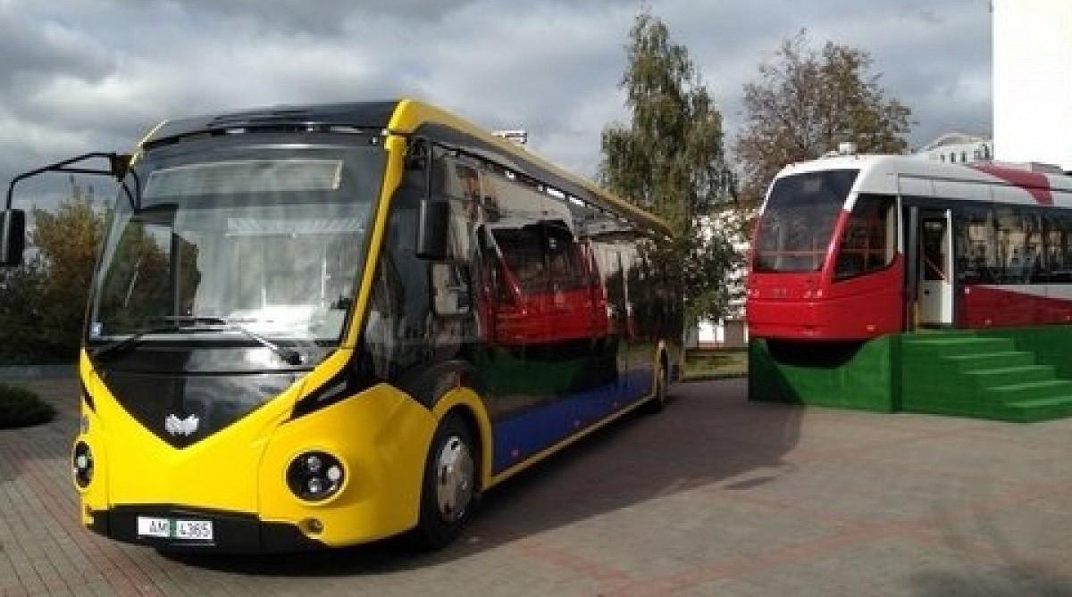 «Белкоммунмаш» запускает серийное производство двух новых моделей электробуса