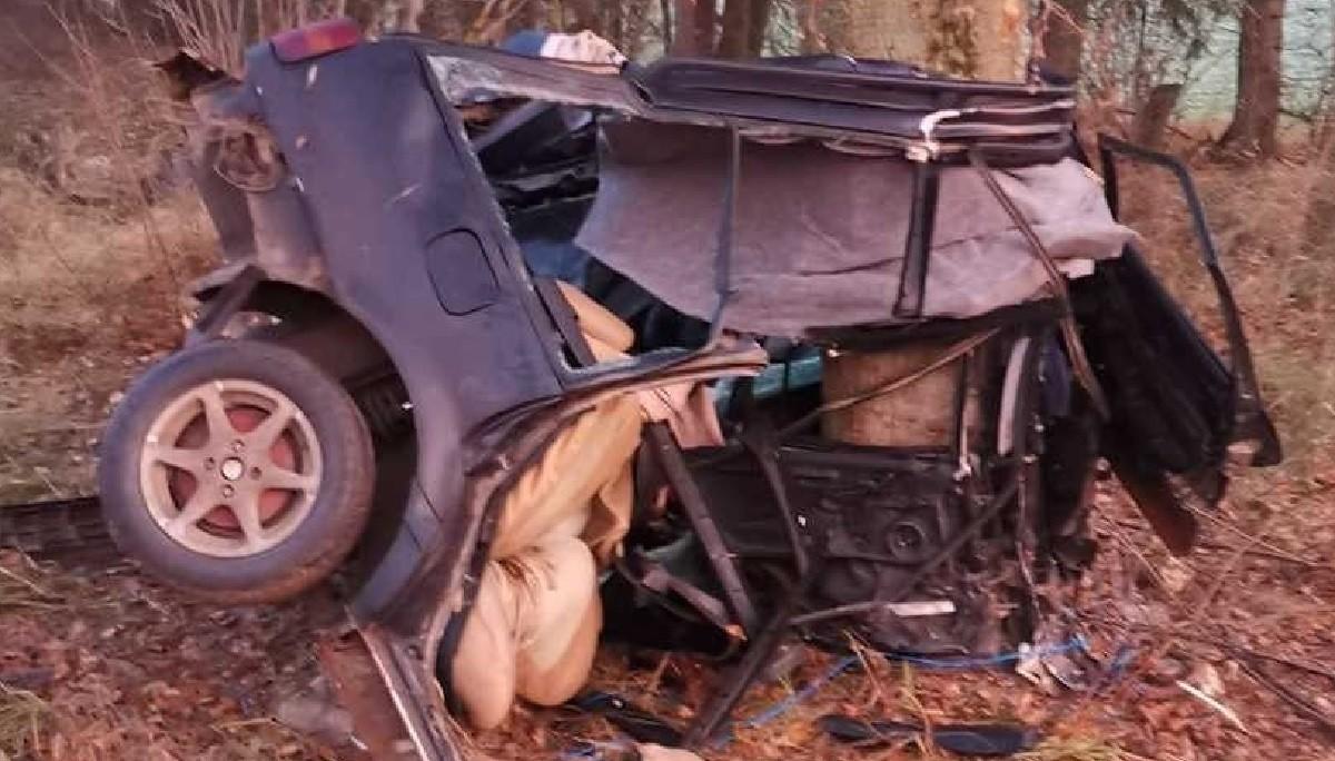 В Оршанском районе насмерть разбился 22-летний водитель