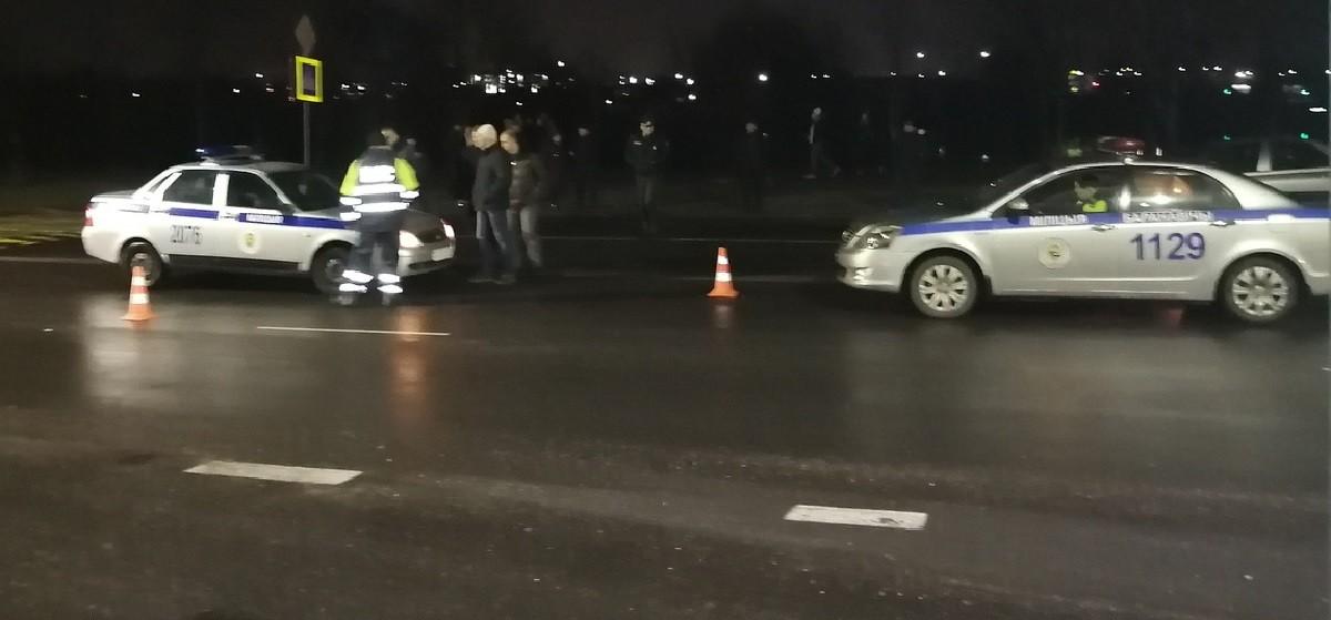 В Барановичах сотрудник милиции сбил пешехода