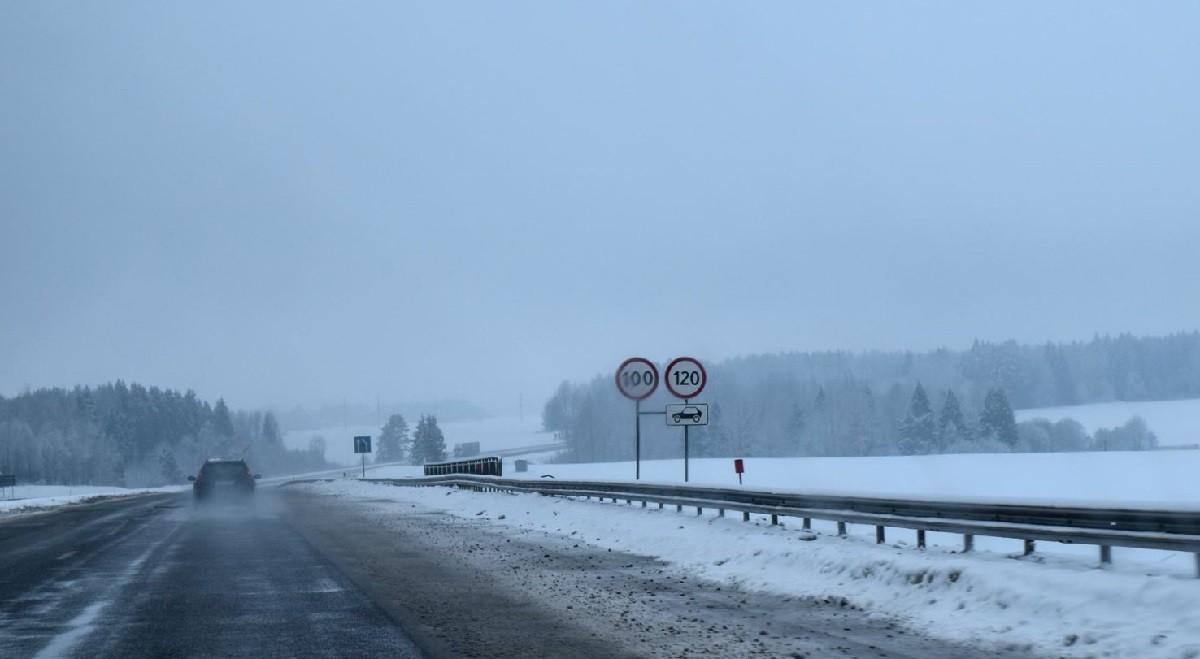 На двух трассах Беларуси повысили разрешенную скорость до 100-120 километров в час