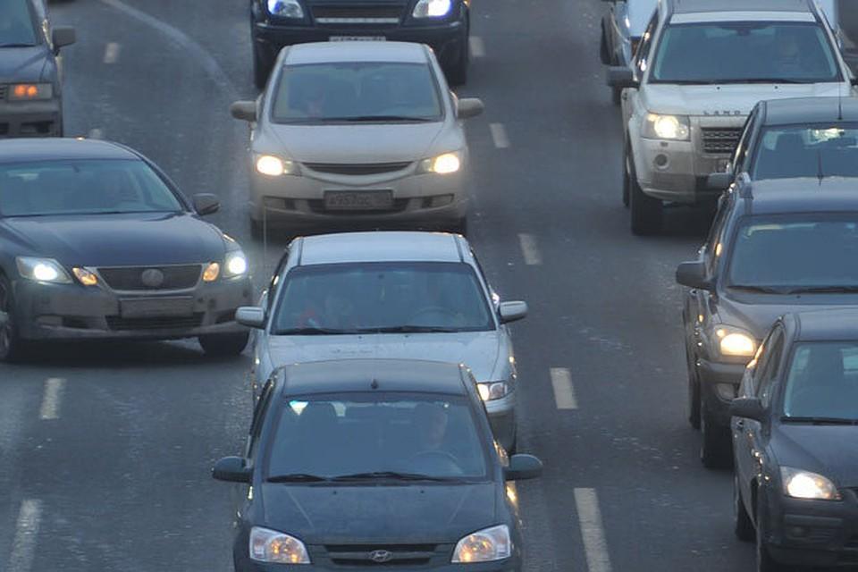 Движение ТС с включенным светом фар: требование для водителей до 5-го июня