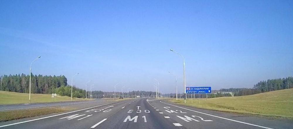 Главная транспортная магистраль М-1 отрабатывается ГАИ на выходные