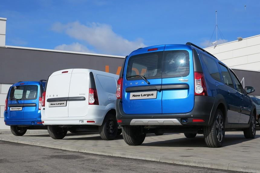 На белорусский рынок приехала новая Lada Largus. Что по ценам?