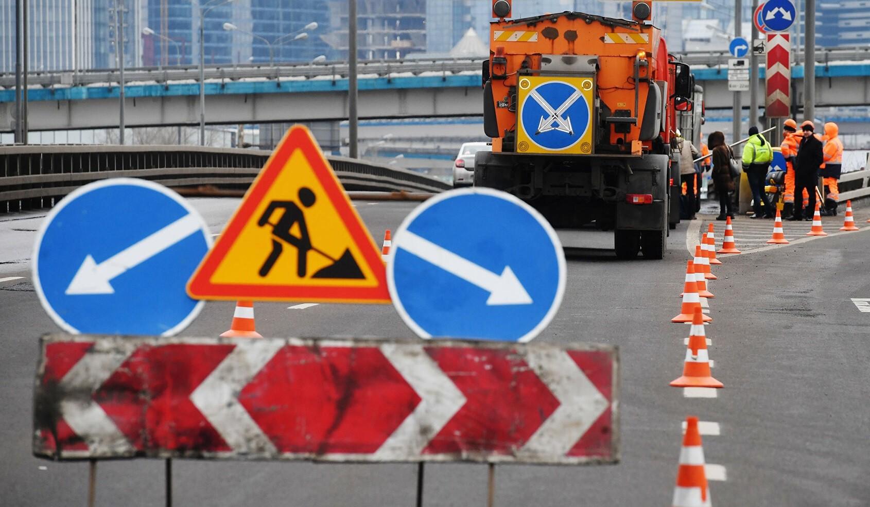На МКАДе начинается масштабный ремонт путепровода. Работы повлияют на движение всего транспорта