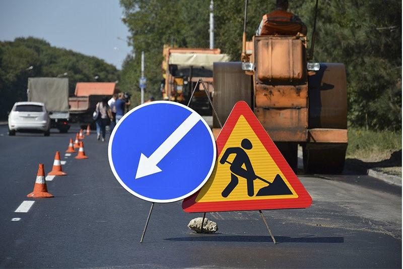 Обновление, реконструкция и ремонт дорожного полотна на МКАДе в разгаре