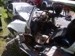 В Речицком районе произошло столкновение Opel и Audi
