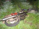 В Воложинском районе произошло столкновение мотоциклиста с гужевой повозкой