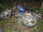 Пьяный водитель мопеда совершил ДТП в Пружанском районе