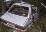 В Барановичском районе Audi столкнулся с деревом: скончались три человека